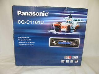 NEW PANASONIC CQ C1101U IN DASH CD PLAYER RECEIVER AM/FM RADIO STEREO
