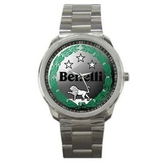 Benelli Italian Classic Motorcycle Shotgun Sport Watch