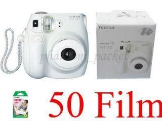Fujifilm Fuji Instax Mini 7s Instant Camera + 50 Film Polaroid 300