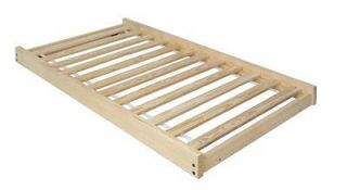 Twin Size Trundle Bed Frame Unfinished Wood, NEW