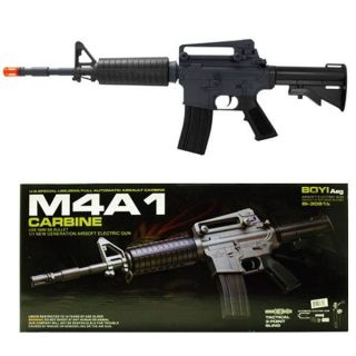 NEW Electric Airsoft Semi & Full Auto M4 M16 M4A1 Assault Rifle AEG