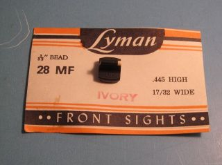 lyman front sight in Gun Parts