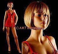 Female Mannequin realistic looking display full body fiberglass