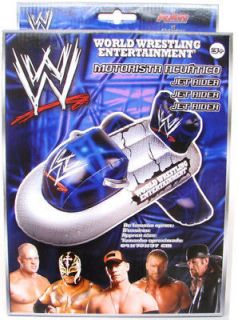 WWE Inflatable Kids Jet Ski Jet Rider Water Fun Beach Swimming Toy