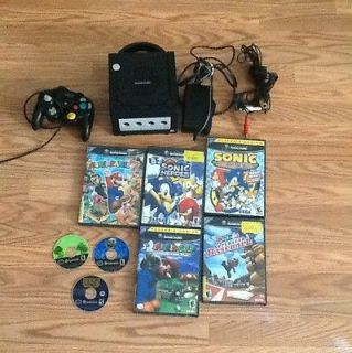 Newly listed Nintendo GAMECUBE Black Console. 8 Games. Sonic Adventure
