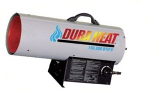 50K BTU PORTABLE PROPANE TORPEDO HEATER GARAGE FORCED
