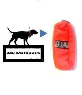 Garmin Astro 220 / 320 Dans Briar Proof Clothing Carry Case (Orange)