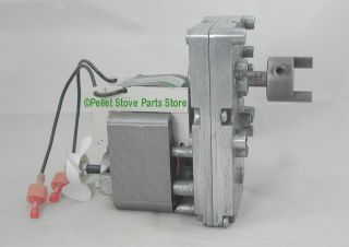 AUGER FEED MOTOR for EARTH STOVE PELLET STOVES   6 RPM