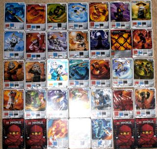 Lego Ninjago Trading Game Cards you pick   20++ ZX, DX, Kendo, NRG
