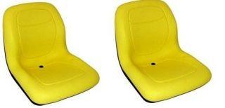 Two (2) New 19 John Deere Yellow Gator Seats 4X2 4X4 4X6 Turf CX TE