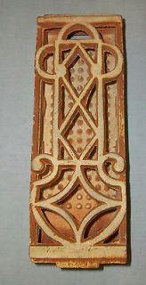 Vintage Ceramic Gas Space Heater Radiant Grate Brick