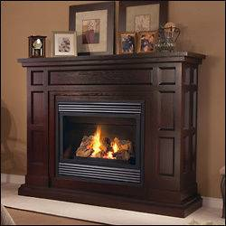 direct vent gas fireplace in Fireplaces