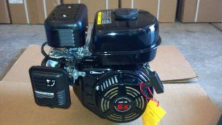 hp engine go cart tiller log splitter 6.5hp gas motor mini bike recoil