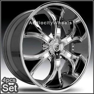 26inch Rims Wheels Chevy Ford Ram Lexani Escalade
