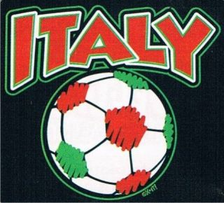 ITALY Soccer Football Team Sport Cool Ball Kids T Shirt