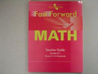California Fast Forward Math Grade K 1 0153770384