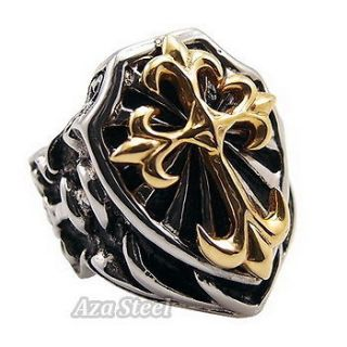 mens gold rings in Mens Jewelry