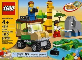 LEGO 4637 SAFARI BUILDING SET BUILDING BLOCK TOY PLAYSET BUILD AND