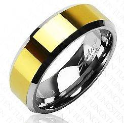 gold plated tungsten in Jewelry & Watches