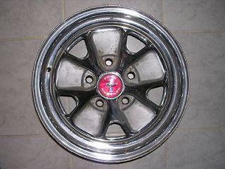 1965 Mustang GT HiPo K Code Kelsey Hayes Styled Steel Wheel 14X5