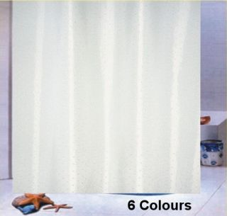 shower curtain set sky blue fabric double swag curtains