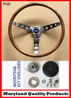 grant wood steering wheels in Parts & Accessories