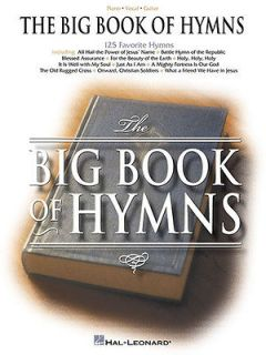 Book of Hymns Songs Piano Sheet Music Book Guitar Chords 125 Songs NEW