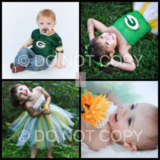 green bay packers in Girls Clothing (Newborn 5T)