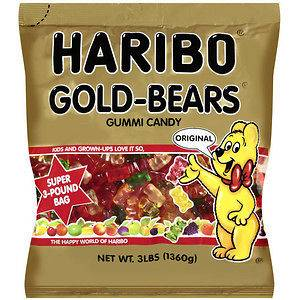 Gummie Bears, Haribo 3LB HUGE BAG  in U.S.