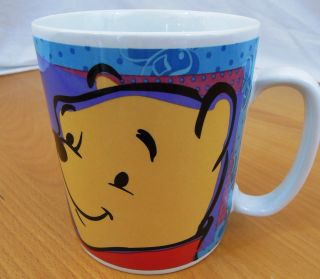 Disney 24 Oz Winnie The Pooh And Friends Coffee Cup Mug Tigger Piglet