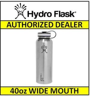 Classic HYDRO FLASK 40 oz Insulated Stainless Steel Water Bottle
