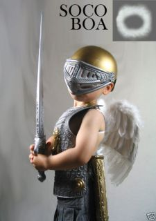 Feather Angel Wings Halo Small Child Babies HALO Halloween costume