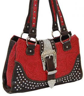 western tooled leather purse in Womens Handbags & Bags