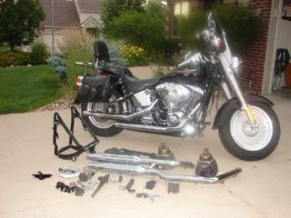 Harley Fat Boy 1450 engine parts never used