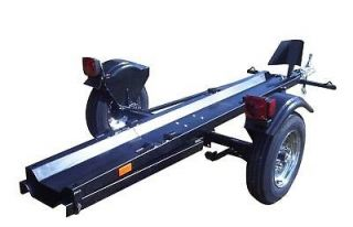 Single Rail Folding Motorcycle Trailer 2013 Honda Gold Wing Harley
