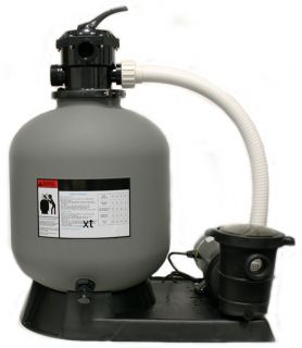 Portable swimming pool pump and filter system for Portable pond filter