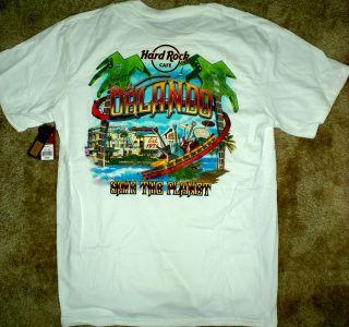Hard Rock Cafe ORLANDO, FL HRC City Tee T Shirt MENS LARGE L LG MWMT