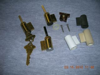 PELLA)) KEYED LOCK CYLINDERS DOOR PARTS ACCESSOR​IES HARDWARE