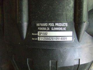 hayward above ground pool pump