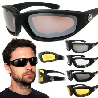 Chopper Wind Resistant Sunglasses Extreme Sports / Motorcycle Riding