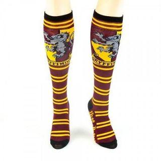 Harry Potter Socks Grvffindor Red Knee High Ages 14 & Older Licenced