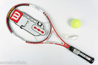 wilson ncode tennis racket in Racquets