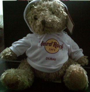 Hard Rock Cafe HRC DUBAI UAE Emirates Hoodie 9 Herrington City Teddy