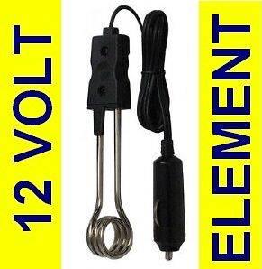 Hot Water 12v volt heater kettle element tea coffee NEW