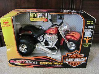 Harley Davidson Motorcycle Custom Trike Mighty Bikes Quality Toys