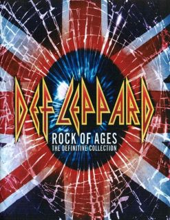 DEF LEPPARD rock of ages heavy metal rock roll guitar glossy photo t