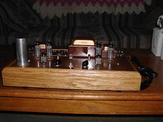 Custom vintage style stereo tube amplifier amp