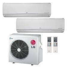 Mini Split Dual Zone Heat Pump 30,000 BTU 19 Seer system 12 +18
