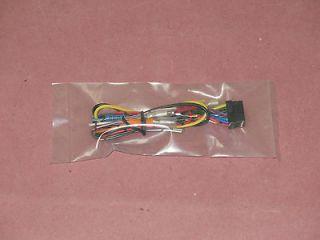 Alpine CDA 9807R, CDA9807R, CDA 9807 Power Harness Plug 16 Pin Loom