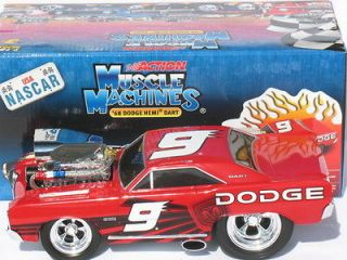 Kahne #9 Dodge Dealers/UAW 1968 Dodge Hemi Dart Muscle Machines Car